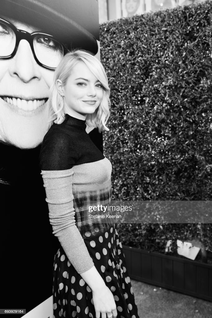 Actor Emma Stone arrives at American Film Institute's 45th Life Achievement Award Gala Tribute to Diane Keaton at Dolby Theatre on June 8, 2017 in Hollywood, California. 26658_004