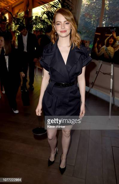 Actor Emma Stone attends the 19th Annual AFI Awards at Four Seasons Hotel Los Angeles at Beverly Hills on January 4 2019 in Los Angeles California
