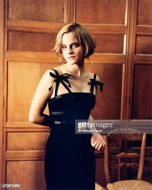 Actor Emma Watson is photographed on November 22 2007 in London England