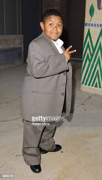 Actor Emmanuel Lewis attends the WBC/IBF Heavyweight Championship bout between Lennox Lewis and Mike Tyson on June 8, 2002 at The Pyramid in Memphis,...