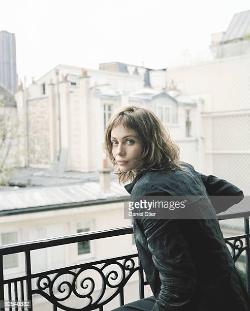 Actor Emmanuelle Beart poses for a portrait shoot in London on November 3 2001