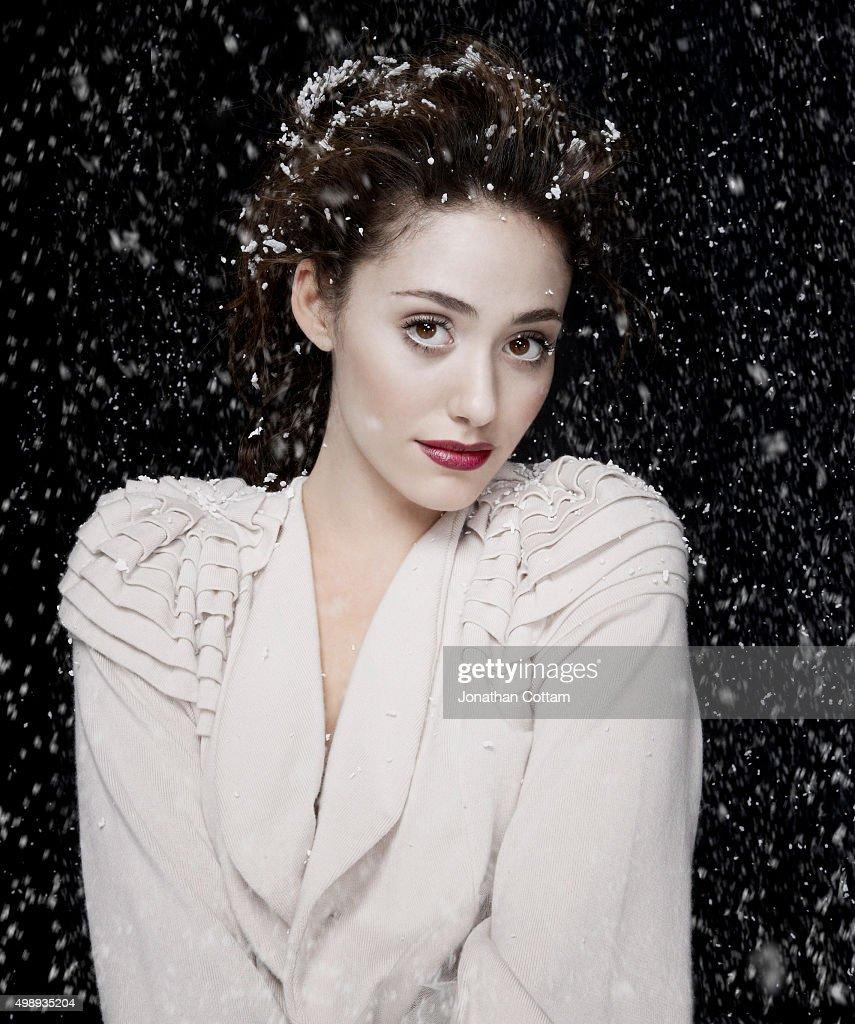 Emmy Rossum, GENLUX magazine USA, Winter 2011 : News Photo