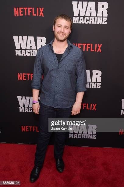 Actor Emory Cohen attends a special screening of the Netflix original film War Machine at The Metrograph on May 16 2017 in New York City