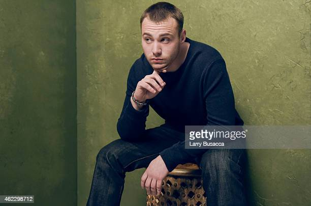 Actor Emory Cohen of Brooklyn poses for a portrait at the Village at the Lift Presented by McDonald's McCafe during the 2015 Sundance Film Festival...