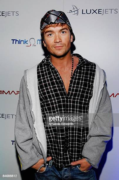 Actor Emrhys Cooper attends the Primary Wave Music Publishing preGrammy party at SLS Hotel on February 7 209 in Los Angeles California