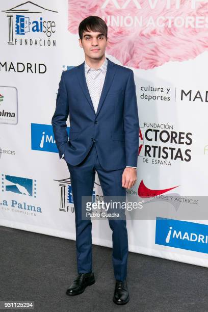 Actor Eneko Sagardoy attends the 'Union de Actores' awards at Circo Price theater on March 12 2018 in Madrid Spain