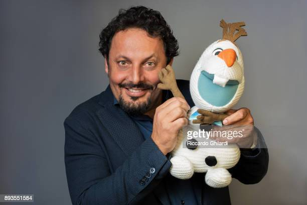 Actor Enrico Brignano poses for a portrait during the 12th Rome Film Festival on November 2017 in Rome Italy