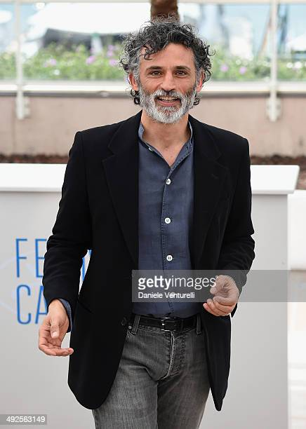 Actor Enrico Lo Verso attends the Sophia Loren Presents Cannes Classic Photocall during the 67th Annual Cannes Film Festival on May 21 2014 in Cannes...