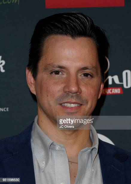 Actor Enrique Sapene attends the 5th Annual Premios PLATINO Of Iberoamerican Cinema Nominations Announcement at Hollywood Roosevelt Hotel on March 13...