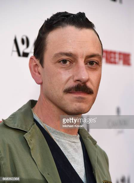 Actor Enzo Cilenti attends The Los Angeles Premiere Of 'Free Fire' Presented By Casa Noble Tequila on April 13 2017 in Los Angeles California