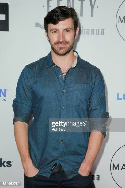 Actor Eoin Macken attends the Fenty Puma Launch Party on September 27 2017 in Beverly Hills California