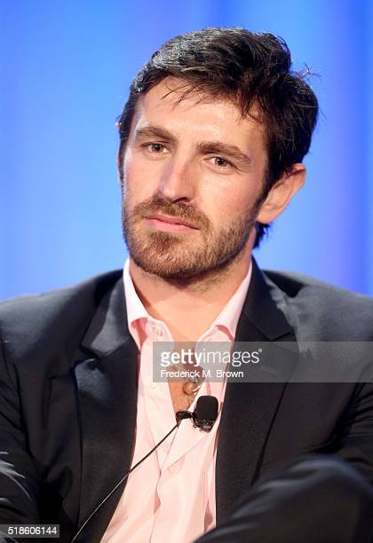 Actor Eoin Macken speaks onstage during the 'The Night Shift' panel at the 2016 NBCUniversal Summer Press Day at Four Seasons Hotel Westlake Village...
