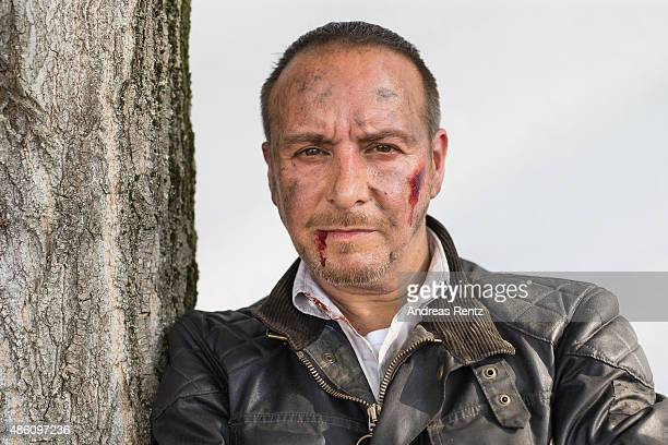 Actor Erdogan Atalay poses for a portrait during the photocall for the action series 'Alarm fuer Cobra 11' on August 31 2015 in Cologne Germany
