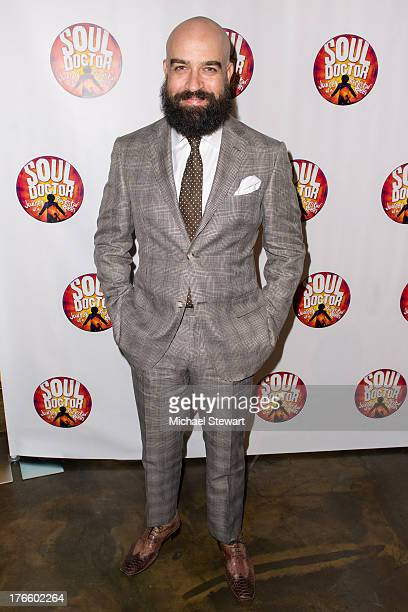 Actor Eric Anderson attends the after party for the Broadway opening night of 'Soul Doctor' at the The Liberty Theatre on August 15 2013 in New York...