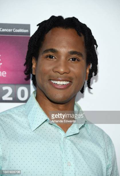 Actor Eric B Anthony arrives at The National Breast Cancer Coalition's 18th Annual Les Girls Cabaret at Avalon Hollywood on October 7 2018 in Los...