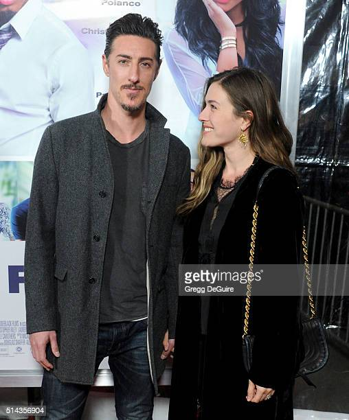 Actor Eric Balfour and wife Erin Chiamulon arrive at the premiere of Lionsgate's 'The Perfect Match' at ArcLight Hollywood on March 7 2016 in...