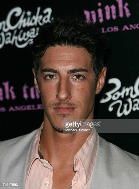 Actor Eric Balfour arrives at the launch of the Pink Taco on June 28 2007 in Los Angeles California