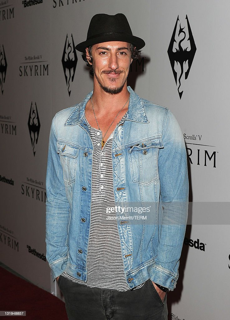 Actor Eric Balfour arrives at the official launch party for the most anticipated video game of the year, The Elder Scrolls