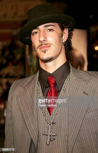 """Actor Eric Balfour arrives at the Premiere Of """"Get Rich Or Die Trying"""" at Grauman's Chinese Theater on November 2, 2005 in Hollywood, California."""