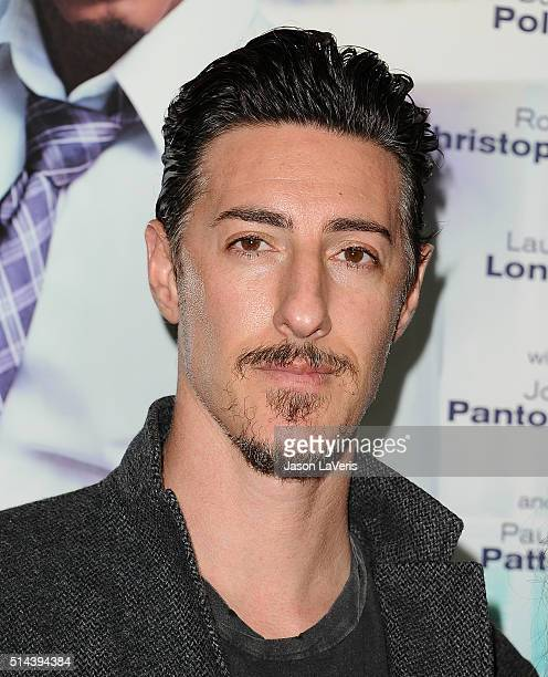 Actor Eric Balfour attends the premiere of 'The Perfect Match' at ArcLight Hollywood on March 7 2016 in Hollywood California