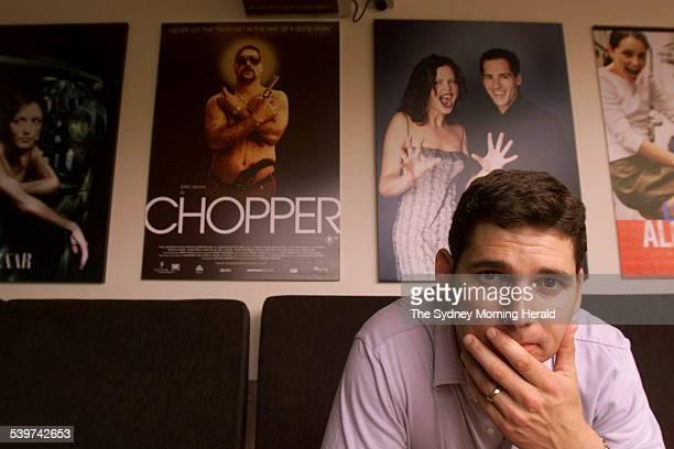Actor Eric Bana 17 November 2000 SMH Picture by BRENDAN ESPOSITO
