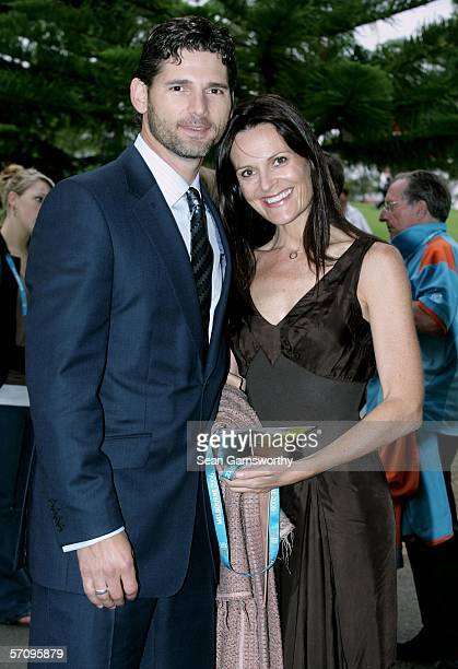 Actor Eric Bana and his wife Rebecca Gleeson arrive at during the Opening Ceremony for the Melbourne 2006 Commonwealth Games at the Melbourne Cricket...