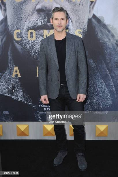 Actor Eric Bana arrives at the Los Angeles Premiere King Arthur Legend Of The Sword at TCL Chinese Theatre on May 8 2017 in Hollywood California