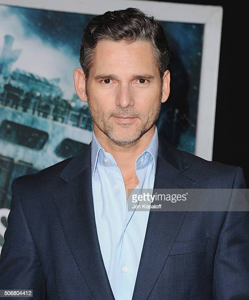 Actor Eric Bana arrives at the Los Angeles Premiere The Finest Hours at TCL Chinese Theatre on January 25 2016 in Hollywood California