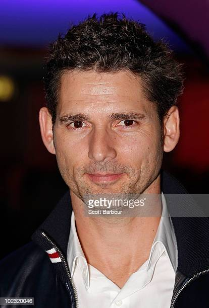 Actor Eric Bana arrives for the opening night of Tim Burton The Exhibition at the Australian Centre for the Moving Image on June 23 2010 in Melbourne...