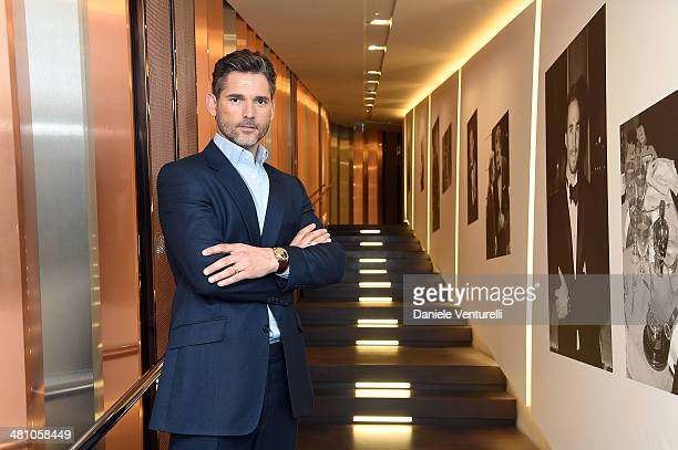Actor Eric Bana attends BVLGARI Octo Press Conference during the Baselworld on March 28 2014 in Basel Switzerland