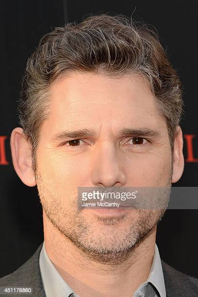 Actor Eric Bana attends the Deliver Us From Evil screening hosted by Screen Gems Jerry Bruckheimer Films with The Cinema Society at SVA Theater on...