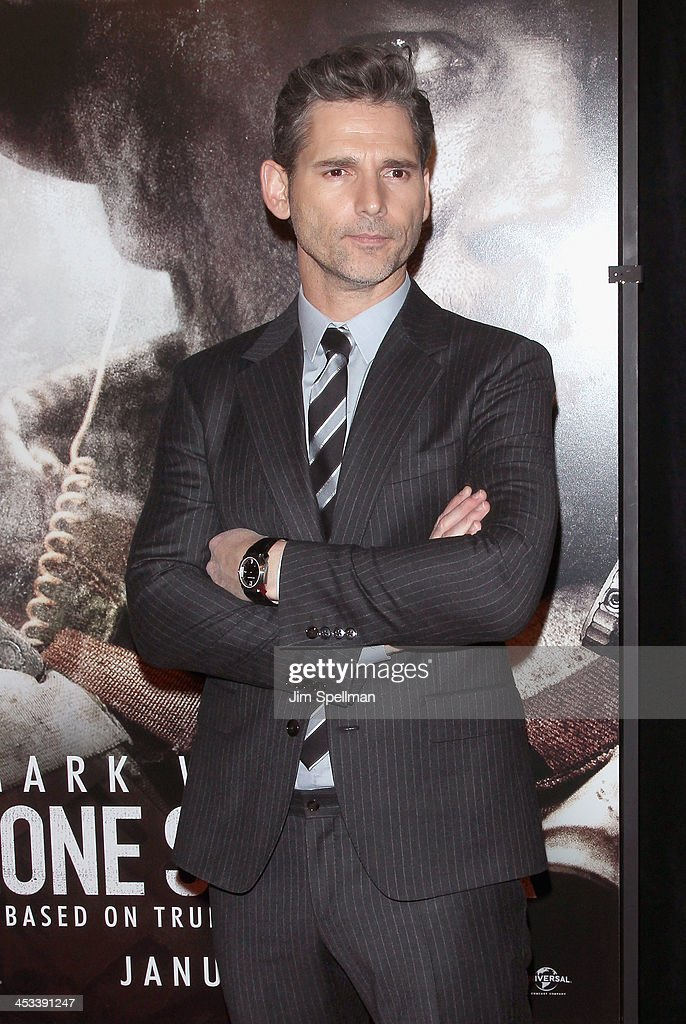 Actor Eric Bana attends the 'Lone Survivor' New York premiere at Ziegfeld Theater on December 3, 2013 in New York City.
