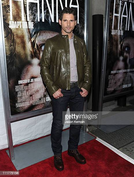 Actor Eric Bana attends the New York screening of Hanna at Regal Union Square on April 6 2011 in New York City