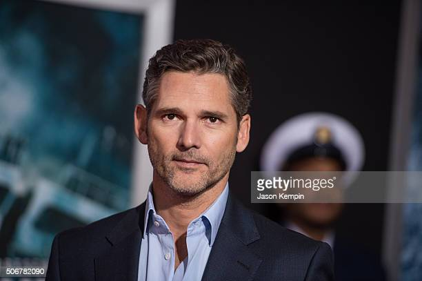 Actor Eric Bana attends the premiere of Disney's The Finest Hours at TCL Chinese Theatre on January 25 2016 in Hollywood California