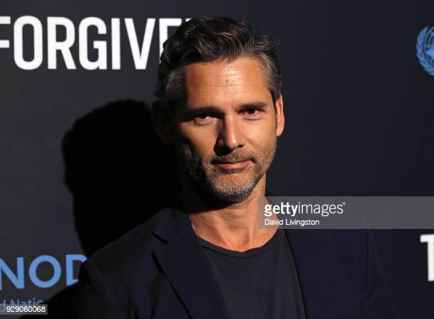 Actor Eric Bana attends the premiere of Saban Films' The Forgiven at the Directors Guild of America on March 7 2018 in Los Angeles California