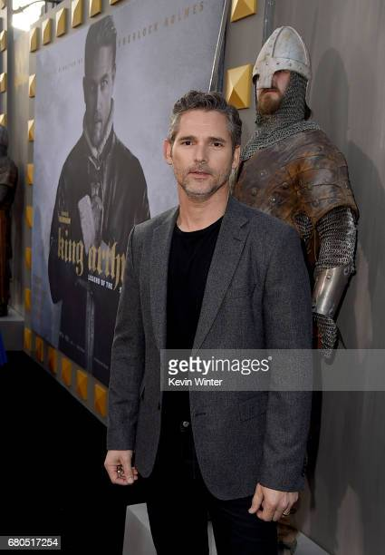 Actor Eric Bana attends the premiere of Warner Bros Pictures' King Arthur Legend Of The Sword at TCL Chinese Theatre on May 8 2017 in Hollywood...