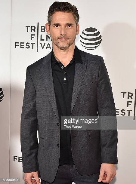 Actor Eric Bana attends the premiere Special Correspondents during the 2016 Tribeca Film Festival at BMCC John Zuccotti Theater on April 22 2016 in...