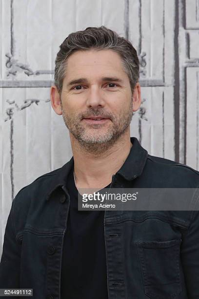 Actor Eric Bana discusses the new film Special Correspondents at AOL Studios in New York on April 26 2016 in New York City