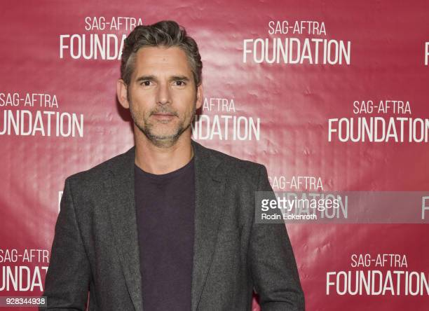 Actor Eric Bana poses for portrait at SAGAFTRA Foundation Conversations screening of The Forgiven at SAGAFTRA Foundation Screening Room on March 6...