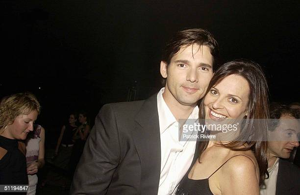 Actor Eric Bana with wife Rebecca Gleeson at the 2002 Lexus IF Awards held in Sydney The awards are fast becoming a major diary even This year the...