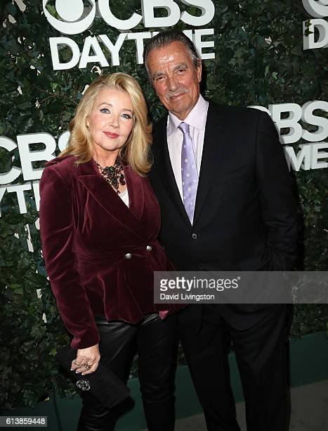 Actor Eric Braeden and Dale Russell Gudegast attend the CBS Daytime for 30 Years at The Paley Center for Media on October 10 2016 in Beverly Hills...