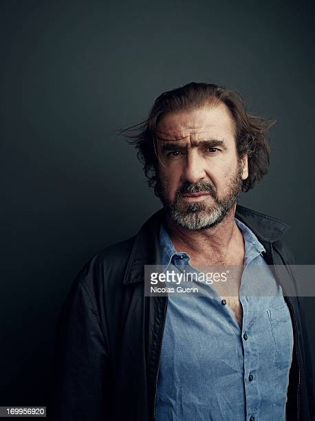 Actor Eric Cantona is photographed for Self Assignment on May 20 2013 in Cannes France
