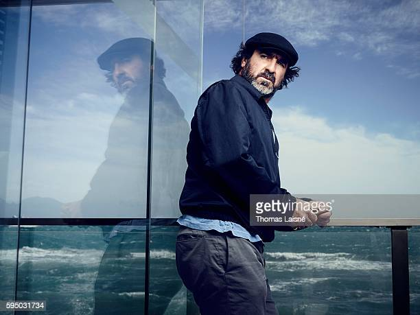 Actor Eric Cantona is photographed for Self Assignment on May 23 2013 in Cannes France