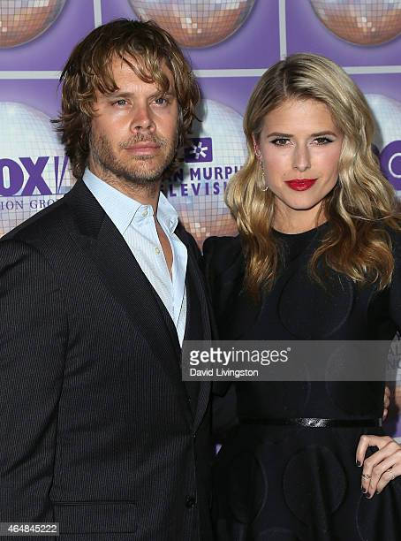Actor Eric Christian Olsen and wife actress Sarah Wright attend the Family Equality Council's Los Angeles Awards Dinner at The Beverly Hilton Hotel...