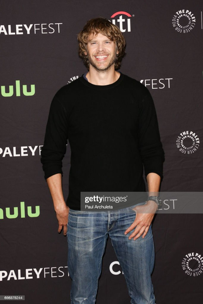 Actor Eric Christian Olsen attends The Paley Center For Media's 34th Annual PaleyFest Los Angeles 'NCIS: Los Angeles' at Dolby Theatre on March 21, 2017 in Hollywood, California.