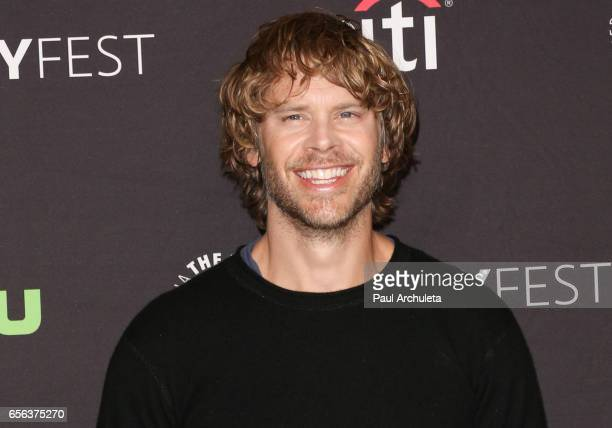 """Actor Eric Christian Olsen attends The Paley Center For Media's 34th Annual PaleyFest Los Angeles """"NCIS: Los Angeles"""" at Dolby Theatre on March 21,..."""
