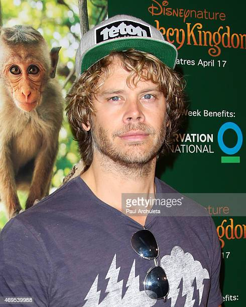Actor Eric Christian Olsen attends the premiere of Monkey Kingdom at the Pacific Theaters at the Grove on April 12 2015 in Los Angeles California
