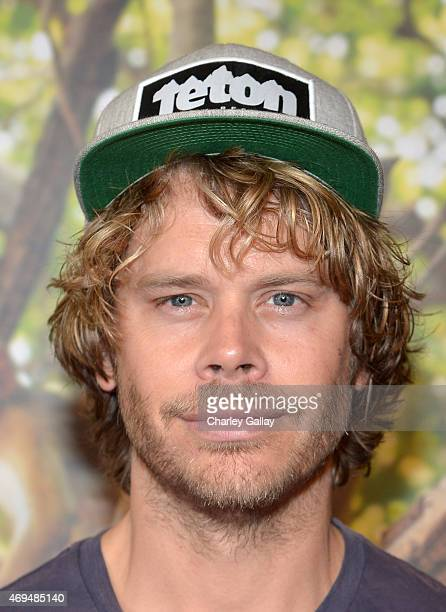 Actor Eric Christian Olsen attends the world premiere Of Disney's Monkey Kingdom at Pacific Theatres at The Grove on April 12 2015 in Los Angeles...
