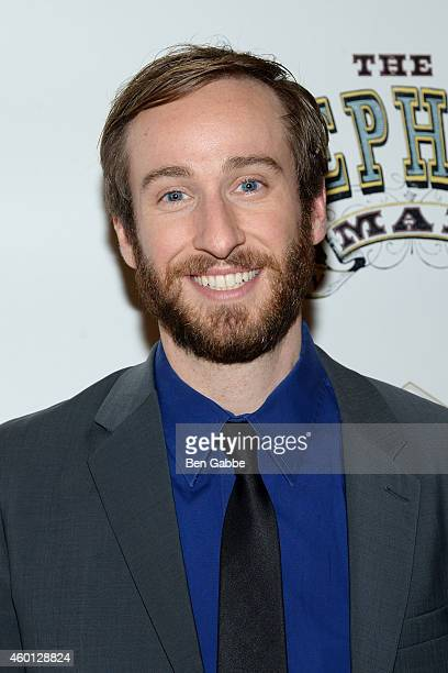 Actor Eric Clem attends The Elephant Man Broadway Opening Night After Party at Gotham Hall on December 7 2014 in New York City