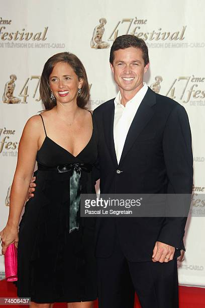 Actor Eric Close and wife Keri attend the opening night of the 2007 Monte Carlo Television Festival held at Grimaldi Forum on June 10 2007 in Monaco